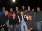 Richard Horner, John Stedman '76, Jed Blackburn, Dean May, Jeff Kiser, ?, Brad Austin.  Front: Lou Leidelmeyer, Scott G